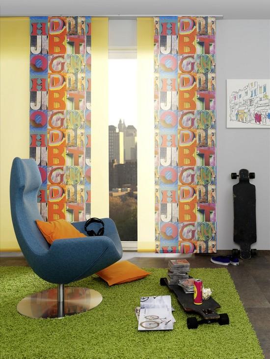 Window Fashion in den aktuellen Trendfarben gibt jedem Raum eine persönliche Note.