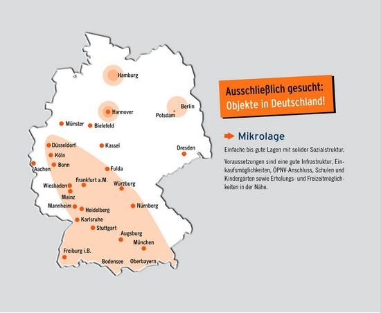 Immobiliengesuch Deutschland