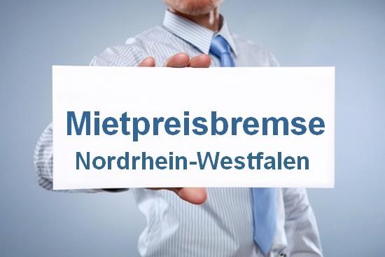 Mietpreisbremse in Nordrhein-Westfalen ab 01.07.2015