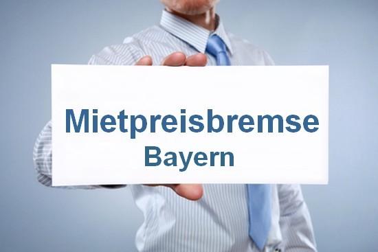 Mietpreisbremse in Bayern ab 01.08.2015
