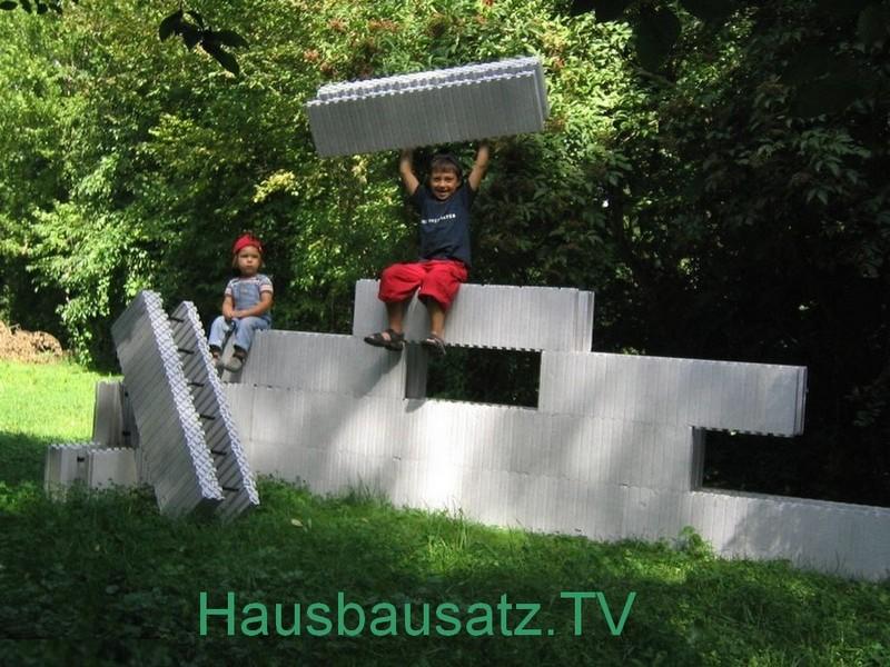 Hausbausatz Bausystem