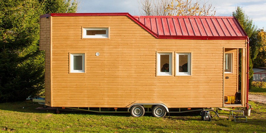 Mobiles Minihaus +++ Rolling Tiny House