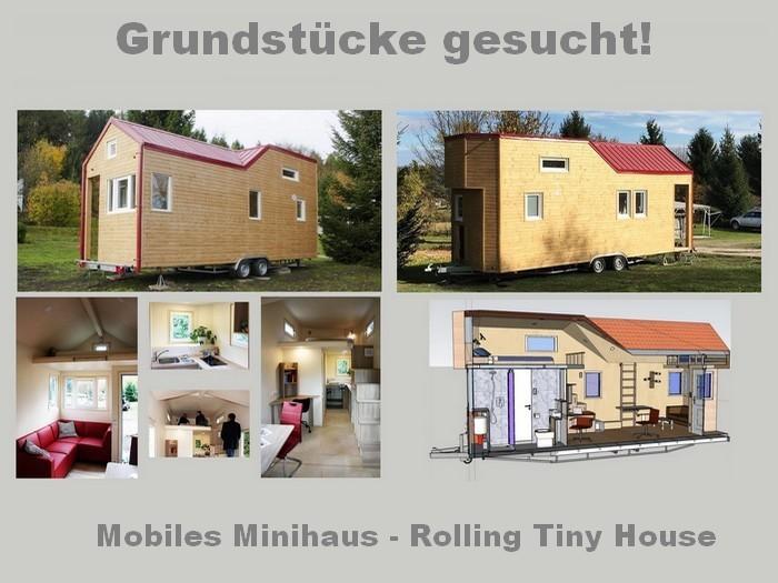 Grundstücke / Stellplätze für mobile Minihäuser gesucht